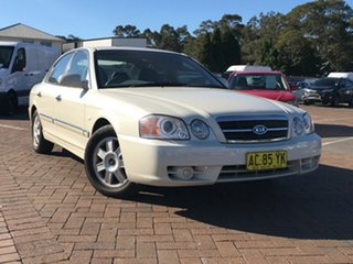2004 Kia Optima GD White 4 Speed Sports Automatic Sedan.