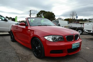 2008 BMW 135i E88 Red 6 Speed Automatic Convertible