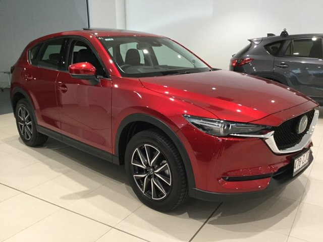 Used Mazda CX-5 KF4WLA GT SKYACTIV-Drive i-ACTIV AWD, 2019 Mazda CX-5 KF4WLA GT SKYACTIV-Drive i-ACTIV AWD Soul Red 6 Speed Sports Automatic Wagon