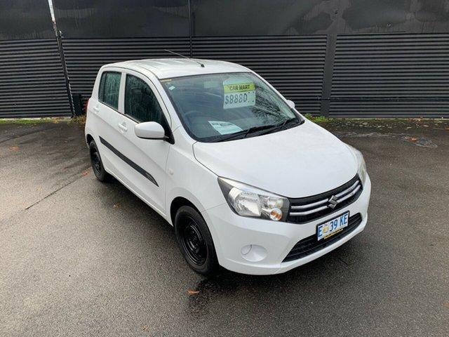 Used Suzuki Celerio LF , 2015 Suzuki Celerio LF White 5 Speed Manual Hatchback