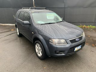 2011 Ford Territory SY MkII TX Black 4 Speed Sports Automatic Wagon.