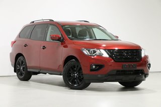 2017 Nissan Pathfinder R52 MY17 Series 2 ST-L (4x4) Red Continuous Variable Wagon.