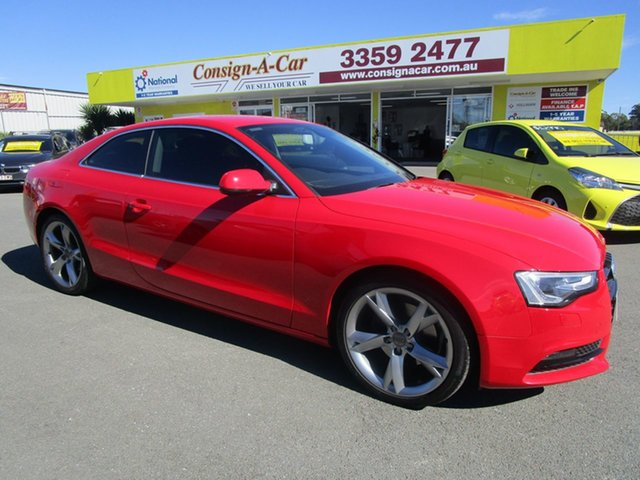 Used Audi A5 8T MY12 Multitronic, 2012 Audi A5 8T MY12 Multitronic Red 8 Speed Constant Variable Coupe