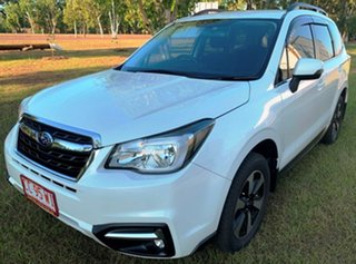 2017 Subaru Forester S4 MY18 2.5i-L CVT AWD White 6 Speed Wagon