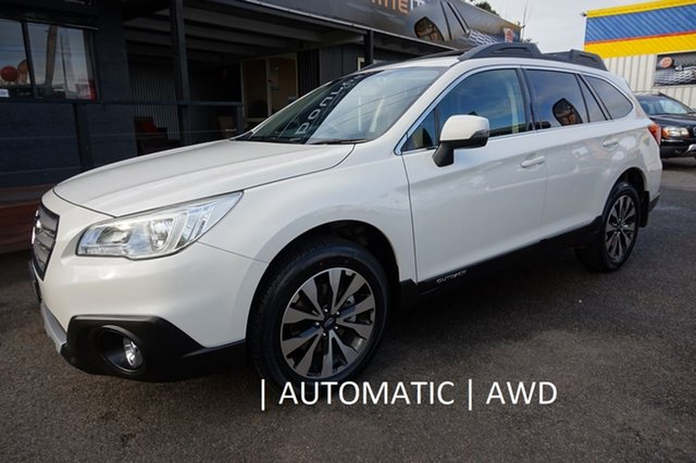 Used Subaru Outback B6A MY15 2.5i CVT AWD, 2015 Subaru Outback B6A MY15 2.5i CVT AWD White 6 Speed Wagon