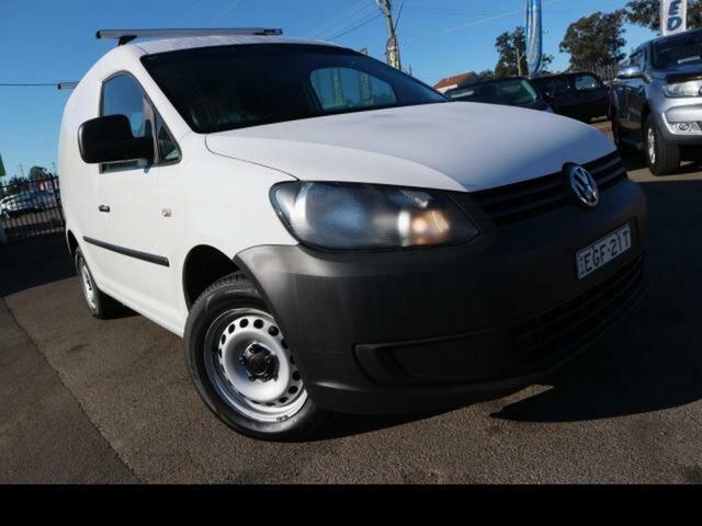 Used Volkswagen Caddy 2K MY13 TSI160, 2013 Volkswagen Caddy 2K MY13 TSI160 White 5 Speed Manual Van