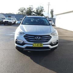 2016 Hyundai Santa Fe DM3 MY16 Active Silver 6 Speed Sports Automatic Wagon.