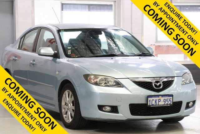 Demo Mazda 3 BK Maxx Sport, 2006 Mazda 3 BK Maxx Sport Blue 5 Speed Manual Sedan