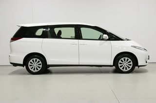 2018 Toyota Tarago ACR50R MY16 GLi White 7 Speed CVT Auto Sequential Wagon