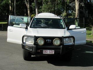 2012 Toyota Landcruiser VDJ200R MY12 GXL White 6 Speed Sports Automatic Wagon