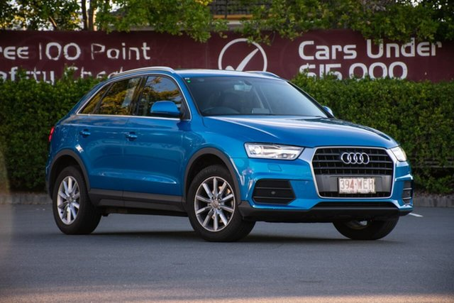 Used Audi Q3 8U MY16 TFSI S Tronic, 2016 Audi Q3 8U MY16 TFSI S Tronic Blue 6 Speed Sports Automatic Dual Clutch Wagon