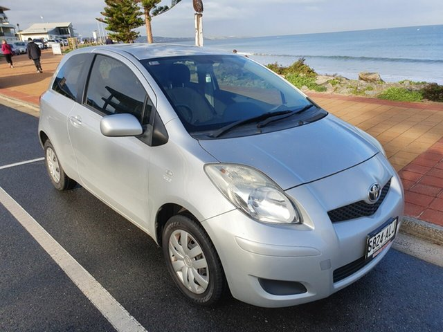Used Toyota Yaris NCP130R YR Morphett Vale, 2011 Toyota Yaris NCP130R YR Silver 5 Speed Manual Hatchback