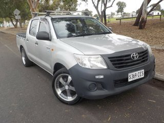 2011 Toyota Hilux TGN16R MY10 Workmate 4x2 5 Speed Manual Utility.
