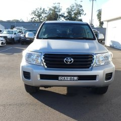 2015 Toyota Landcruiser VDJ200R MY13 GXL Silver 6 Speed Sports Automatic Wagon.