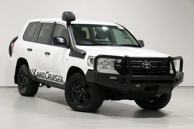 Used Toyota Landcruiser VDJ200R MY16 GX (4x4), 2016 Toyota Landcruiser VDJ200R MY16 GX (4x4) White 6 Speed Automatic Wagon