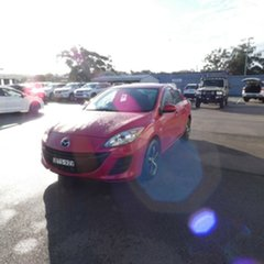 2010 Mazda 3 BL10F1 Neo Red 6 Speed Manual Sedan.