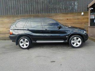 2006 BMW X5 E53 MY06 Steptronic Black 6 Speed Sports Automatic Wagon.