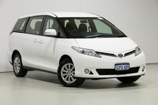 2018 Toyota Tarago ACR50R MY16 GLi White 7 Speed CVT Auto Sequential Wagon.