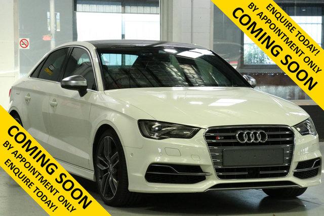 Used Audi S3 8V MY15 2.0 TFSI Quattro, 2015 Audi S3 8V MY15 2.0 TFSI Quattro White 6 Speed Direct Shift Sedan