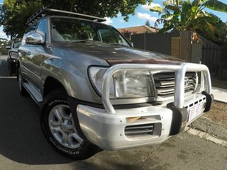 2004 Toyota Landcruiser UZJ100R Kakadu Silver 5 Speed Auto Active Select Wagon.
