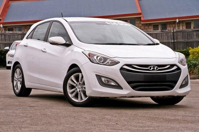Used Hyundai i30 GD Elite, 2013 Hyundai i30 GD Elite White 6 Speed Sports Automatic Hatchback