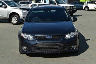 2011 Ford Falcon FG MK2 XR6T Grey 6 Speed Auto Seq Sportshift Sedan.