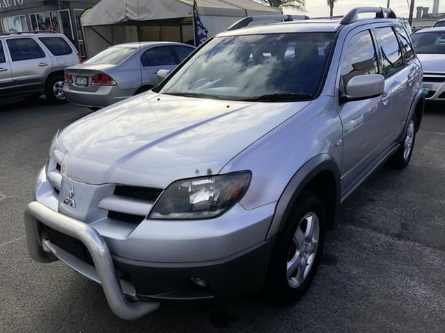 Used Mitsubishi Outlander ZE LS, 2003 Mitsubishi Outlander ZE LS Silver 4 Speed Sports Automatic Wagon