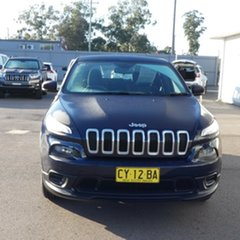 2014 Jeep Cherokee KL MY15 Sport Blue 9 Speed Sports Automatic Wagon.