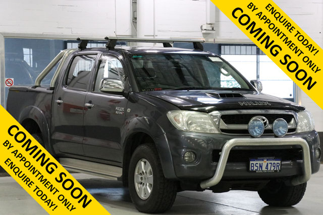 Used Toyota Hilux KUN26R MY11 Upgrade SR5 (4x4), 2010 Toyota Hilux KUN26R MY11 Upgrade SR5 (4x4) Grey 5 Speed Manual Dual Cab Pick-up