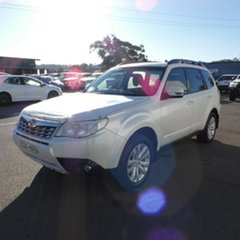 2011 Subaru Forester S3 MY11 XS AWD White 5 Speed Manual Wagon.