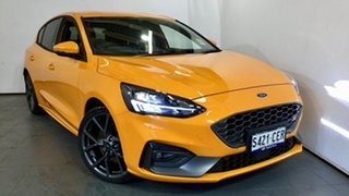 2020 Ford Focus SA 2020.25MY ST Orange Fury 6 Speed Manual Hatchback.