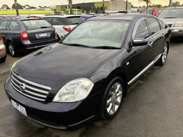 Used Nissan Maxima J31 TI, 2004 Nissan Maxima J31 TI Black 4 Speed Automatic Sedan