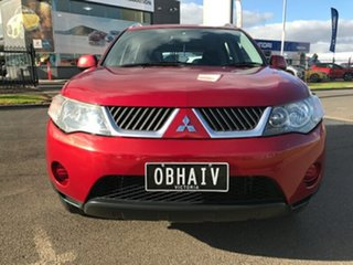 2007 Mitsubishi Outlander ZG MY07 LS Red 6 Speed Constant Variable Wagon