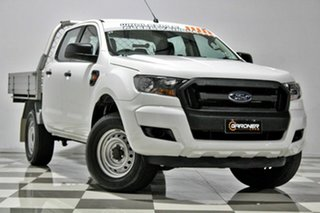 2015 Ford Ranger PX MkII XL 3.2 (4x4) White 6 Speed Automatic Crew Cab Chassis.