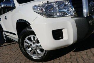 2012 Toyota Landcruiser VDJ200R MY12 GXL (4x4) White 6 Speed Automatic Wagon.