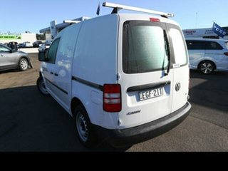 2013 Volkswagen Caddy 2K MY13 TSI160 White 5 Speed Manual Van.