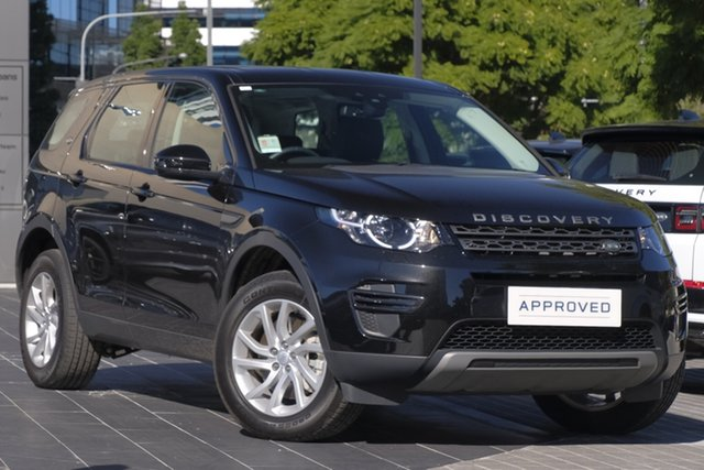 Used Land Rover Discovery Sport L550 19MY SD4 SE, 2018 Land Rover Discovery Sport L550 19MY SD4 SE Santorini Black 9 Speed Sports Automatic Wagon