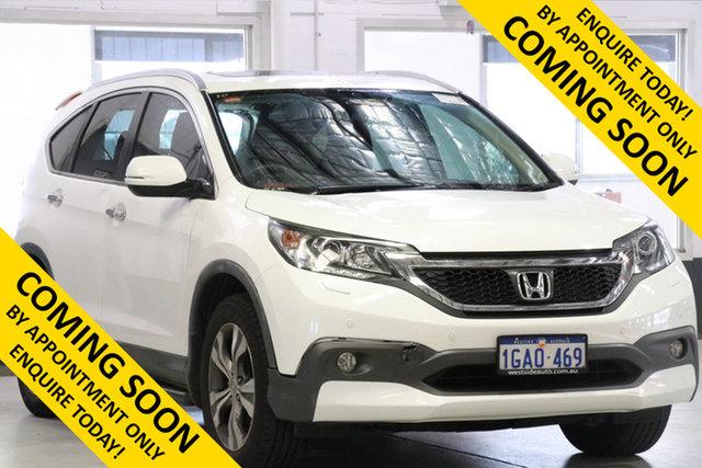 Used Honda CR-V 30 MY14 VTi-L (4x4), 2013 Honda CR-V 30 MY14 VTi-L (4x4) White 5 Speed Automatic Wagon