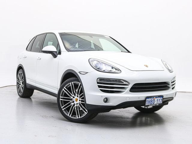 Used Porsche Cayenne Series 2 MY13 Diesel, 2013 Porsche Cayenne Series 2 MY13 Diesel White 8 Speed Automatic Tiptronic Wagon