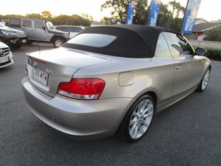 2009 BMW 1 Series E88 MY10 123d Steptronic Silver 6 Speed Sports Automatic Convertible