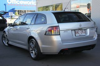 2010 Holden Commodore VE II SV6 Sportwagon Silver 6 Speed Sports Automatic Wagon.
