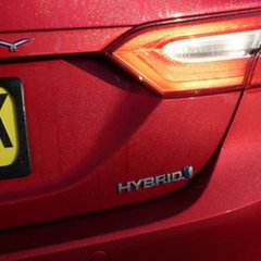 2018 Toyota Camry AXVH71R Ascent Red 6 Speed Sedan Hybrid
