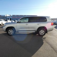 2015 Toyota Landcruiser VDJ200R MY13 GXL Silver 6 Speed Sports Automatic Wagon