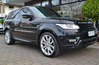 2014 Land Rover Range Rover Sport L494 15.5MY SDV8 HSE Dynamic Black Metallic 8 Speed.