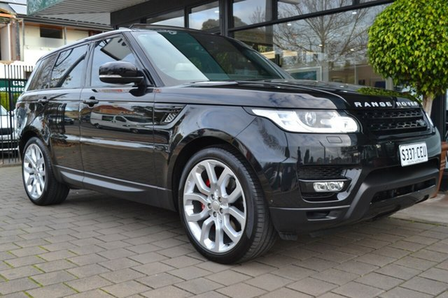 Used Land Rover Range Rover Sport L494 15.5MY SDV8 HSE Dynamic, 2014 Land Rover Range Rover Sport L494 15.5MY SDV8 HSE Dynamic Black Metallic 8 Speed