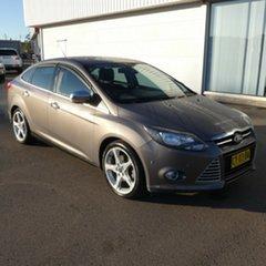 2011 Ford Focus LW Titanium PwrShift Grey 6 Speed Sports Automatic Dual Clutch Sedan.