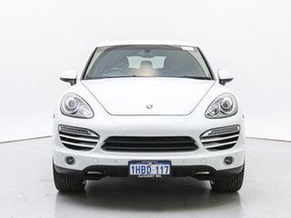 2013 Porsche Cayenne Series 2 MY13 Diesel White 8 Speed Automatic Tiptronic Wagon.