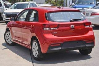 2019 Kia Rio YB MY20 S Signal Red 4 Speed Sports Automatic Hatchback.