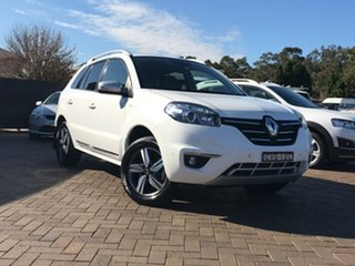 2014 Renault Koleos H45 Phase III Bose White 1 Speed Constant Variable SUV.