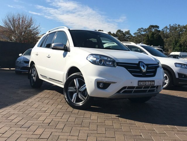 Used Renault Koleos H45 Phase III Bose, 2014 Renault Koleos H45 Phase III Bose White 1 Speed Constant Variable SUV
